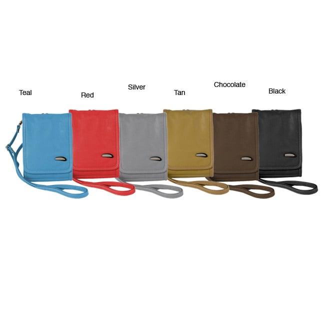 Travelon Leather Travel Wallet