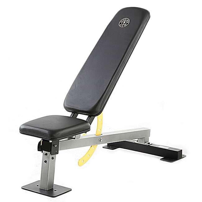 Gold S Gym Adjustable Multiposition Weight Bench Free Shipping Today Overstock Com 12021559