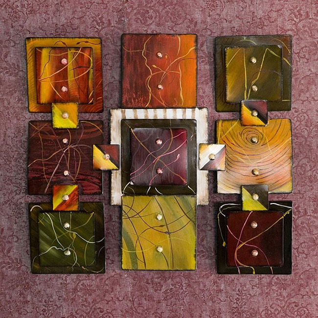 Abstract Wall Sculpture