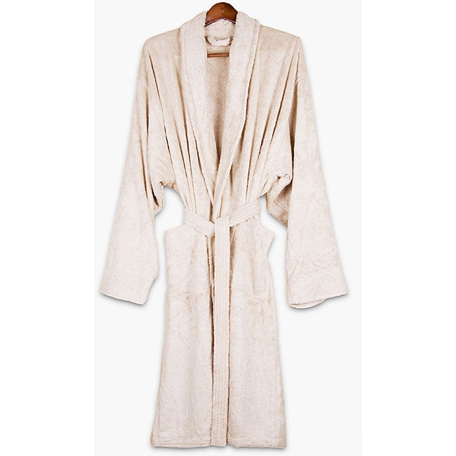 Ecru Rayon from Bamboo Bath Robe