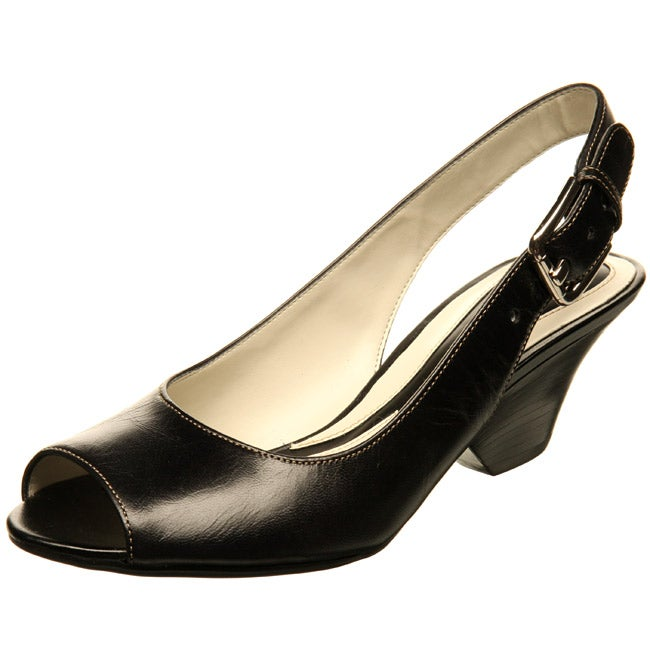 3516bb42b1a Naturalizer Women's 'Voluminous' Peep-toe Slingback Heels
