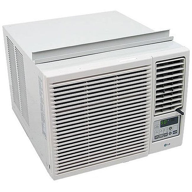 lg 7000 btu heat n 39 cool window air conditioner free shipping today 12037596. Black Bedroom Furniture Sets. Home Design Ideas