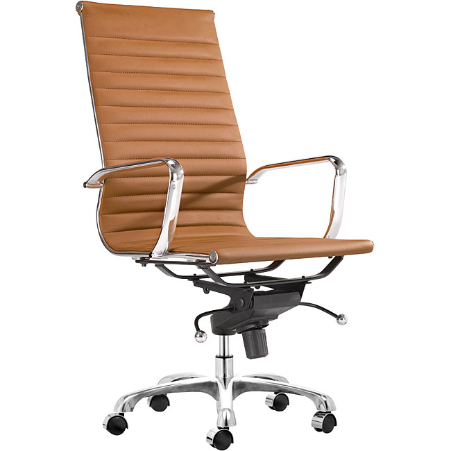 Manhattan Terracotta High Back Office Chair Free Shipping Today