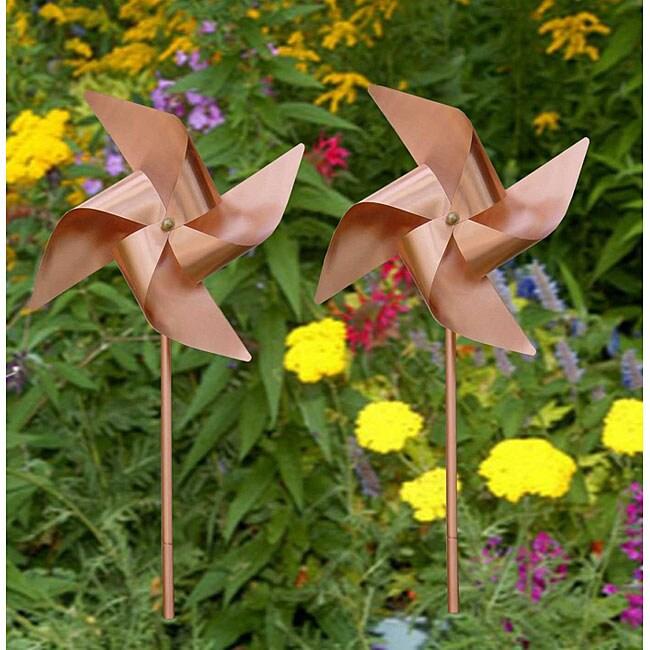 Copper Swirling Pinwheel (Set of 2)
