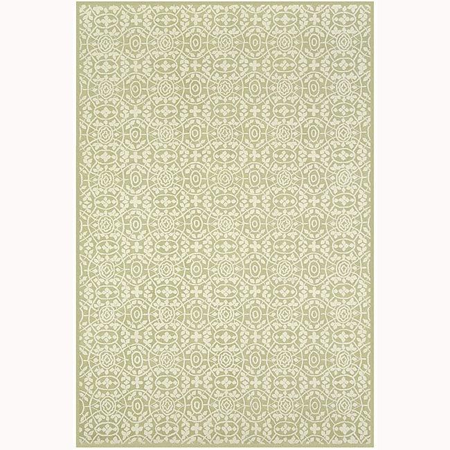 """Martha Stewart by Safavieh Bloomery Linden Cotton Rug - 3'9"""" x 5'9"""""""