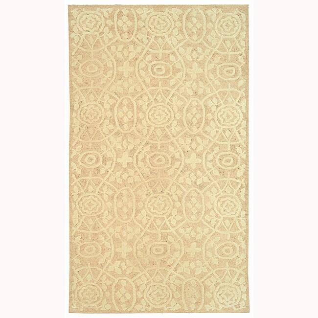 Martha Stewart by Safavieh Bloomery Thistle Cotton Rug - 5'6 x 8'6
