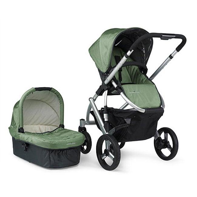 Uppababy 2009 Carlin Green Vista Baby Stroller Free
