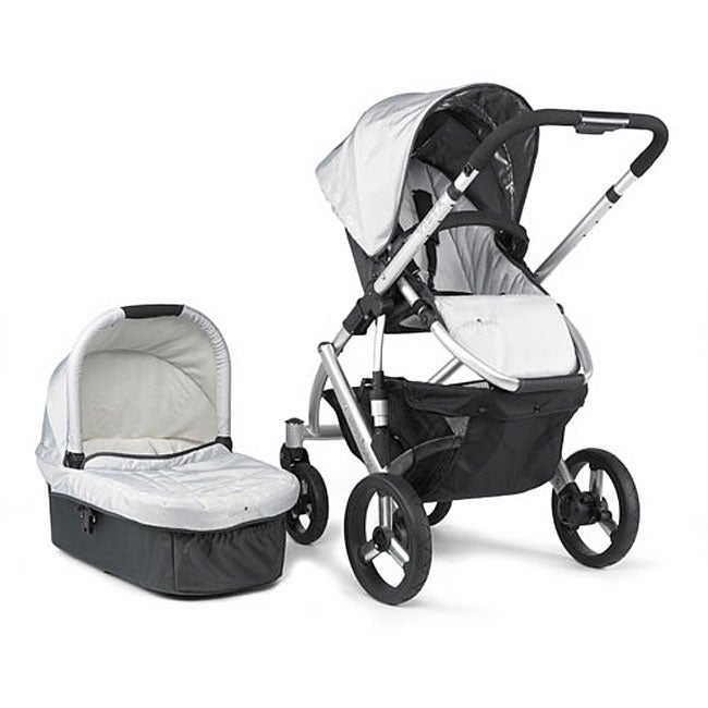 2009 Uppababy Vista Stroller In Mica Free Shipping Today