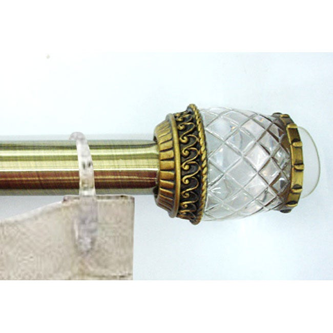 Shop Bello Brass 36 To 72 Inch Shower Curtain Rod