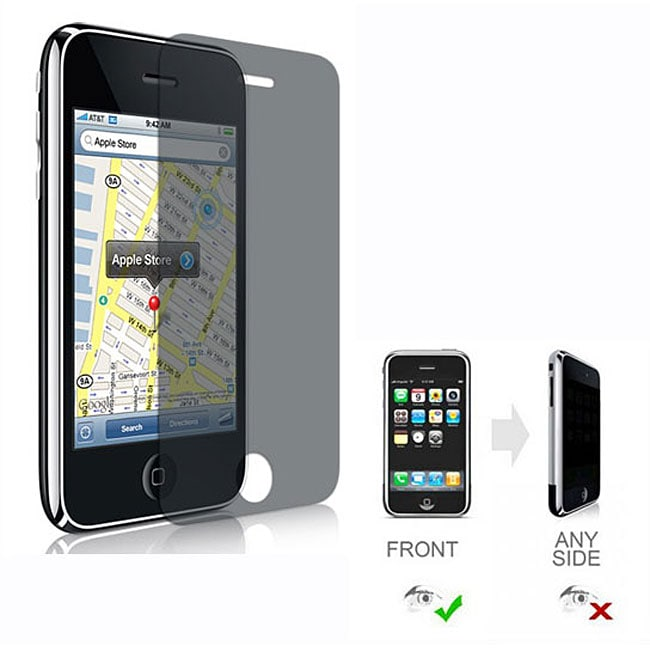 Privacy Screen Protector for iPhone 3G