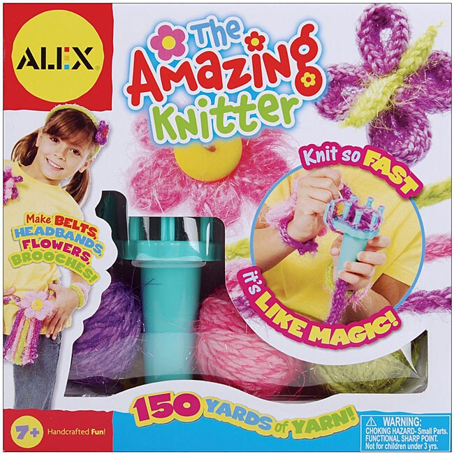 Alex Toys The Amazing Knitter Kit Free Shipping On