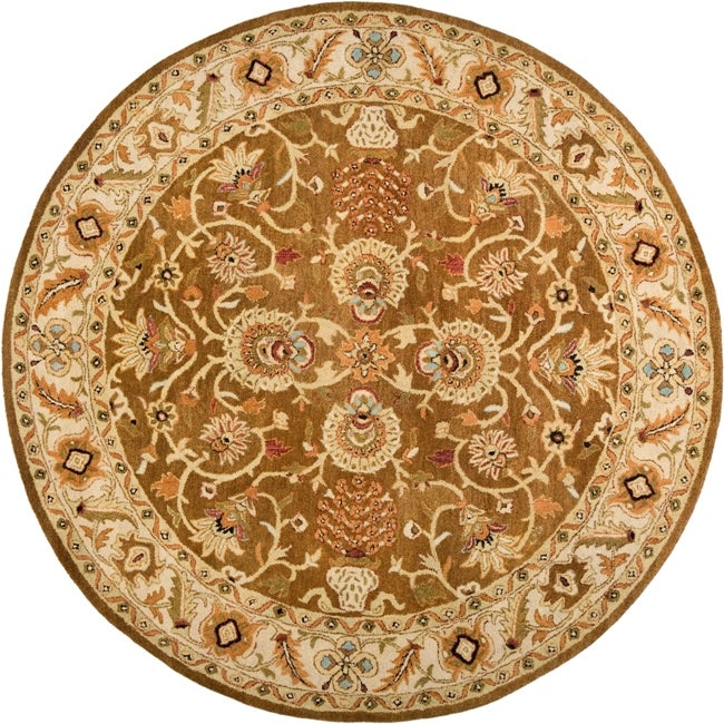 Hand-tufted Ariel Collection Wool Rug (8' Round)