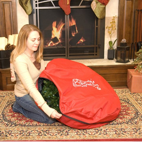 TreeKeeper 36-inch Wreath Storage Bag