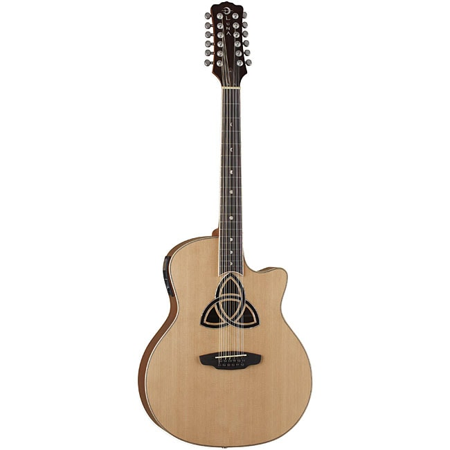 Luna Trinity 12-string Acoustic/ Electric Guitar