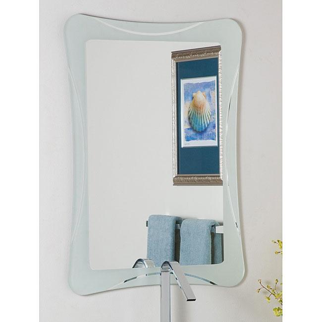 Frameless 'Shapes' Mirror