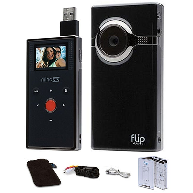 Flip Mino F460b 4gb HD Digital Video Camcorder