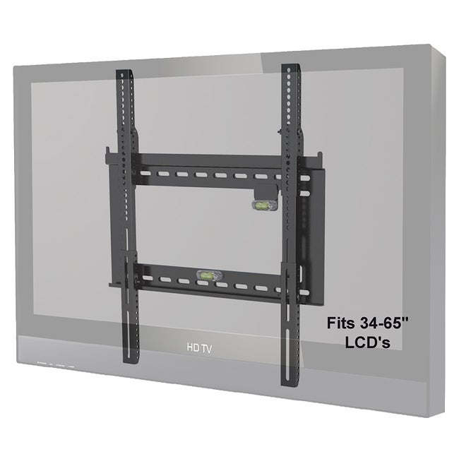 Level Mount Adjustable Fixed 26 to 65-inch TV Mount