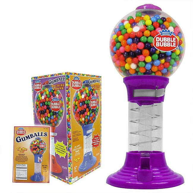 Bubble Gumball Machine 17 Inch Bank Free Shipping On