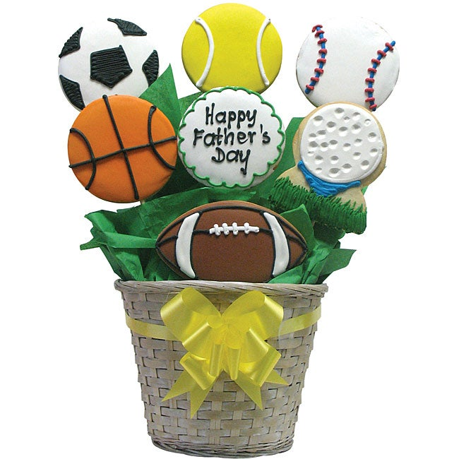 Have a Ball Father's Day Cookie Arrangement