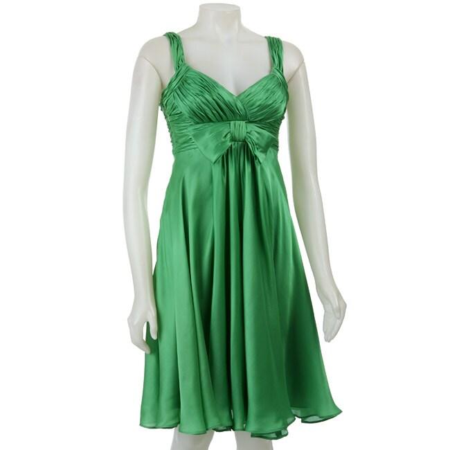Anne Klein Women's Silk Georgette Dress