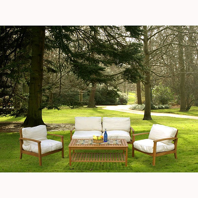 Shop Palmero Deep Seating Patio Furniture Set Free Shipping Today