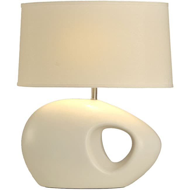 Shop River Rock Table Lamp Free Shipping Today Overstock Com