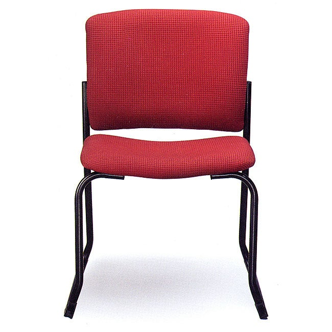 Allseating Red Rainbow Square-back Stacking Chair