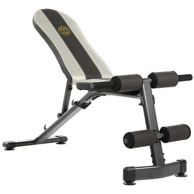 Gold S Gym Utility Bench Free Shipping Today Overstock