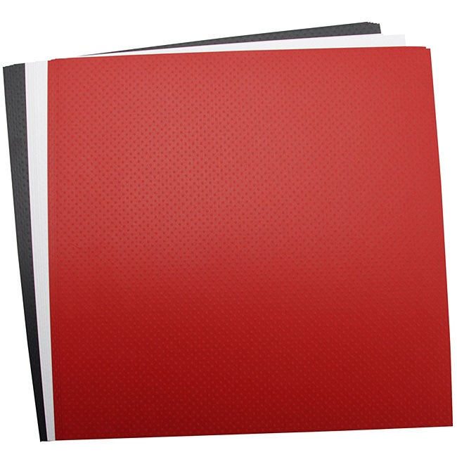 Bazzill Dotted Swiss Cardstock Page Set (Pack of 15)