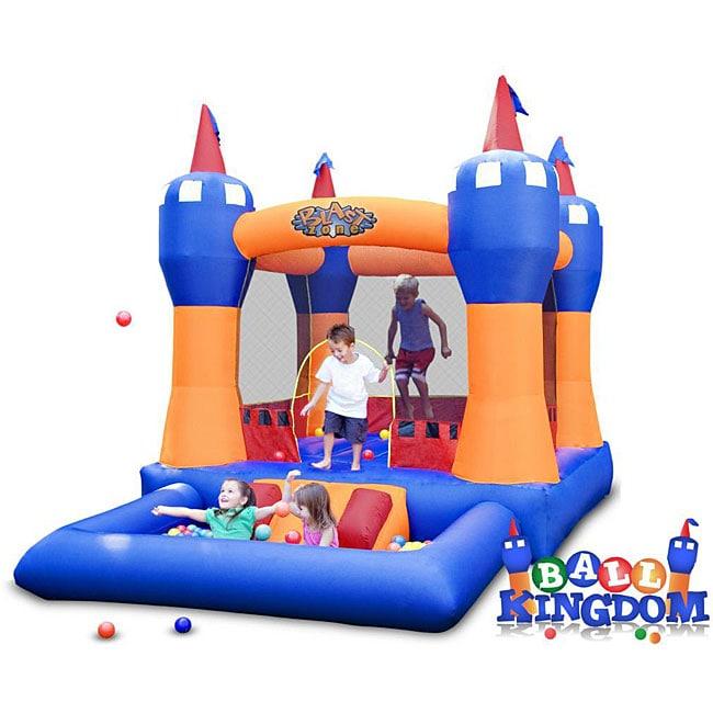 Blast Zone Ball Kingdom Jump Castle Bounce House/ Ball Pit