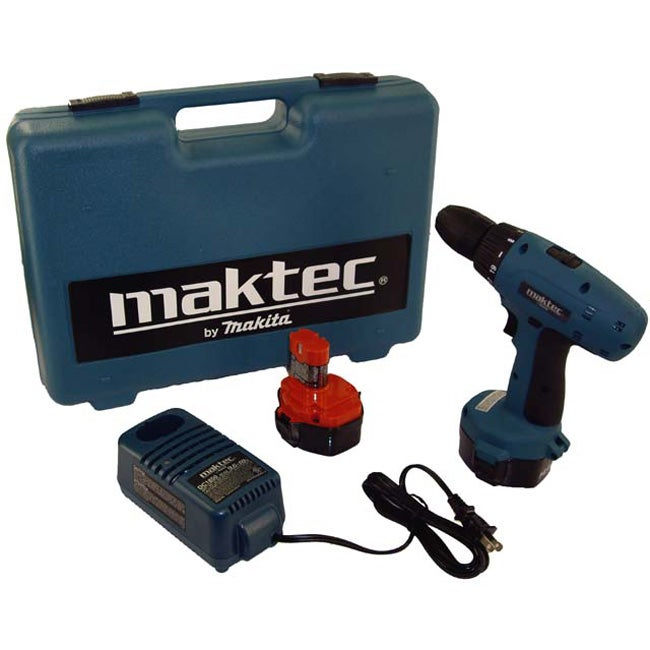 makita maktec 14 4 volt cordless drill free shipping. Black Bedroom Furniture Sets. Home Design Ideas