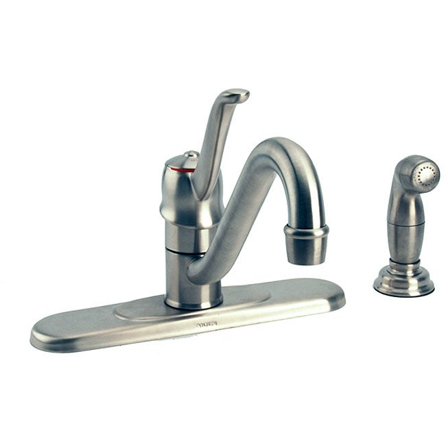 Attractive Moen Muirfield Kitchen Faucet #7: Moen Muirfield Collection Kitchen Faucet With Side Spray