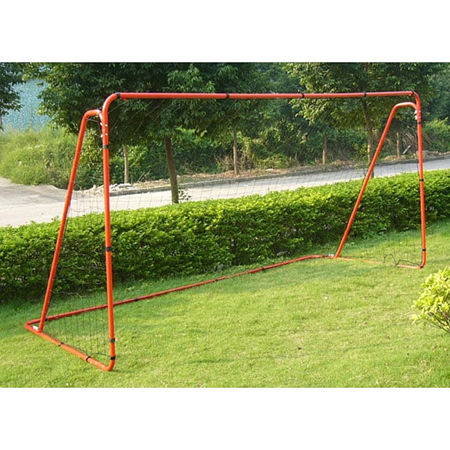 TNT 12x6-feet Backyard Steel Soccer Goal with Net