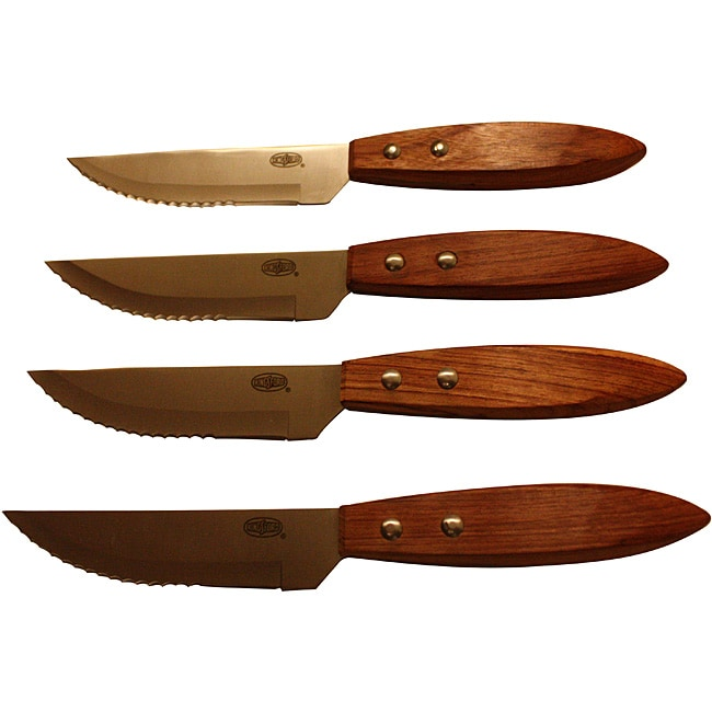 Kansas City Steakhouse Steak Knives (Set of 4)