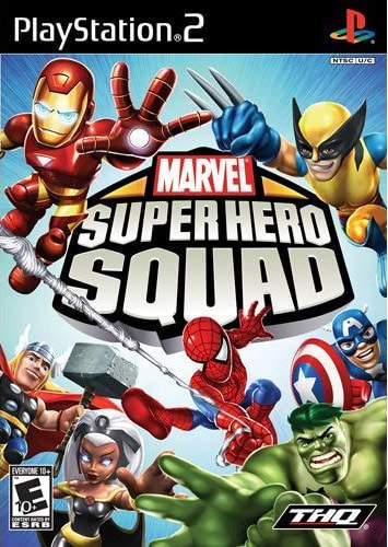 PS2 - Marvel Superhero Squad