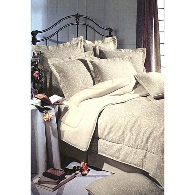 Eco-Ordinates 'Louvre' Linen 4-piece Comforter Set