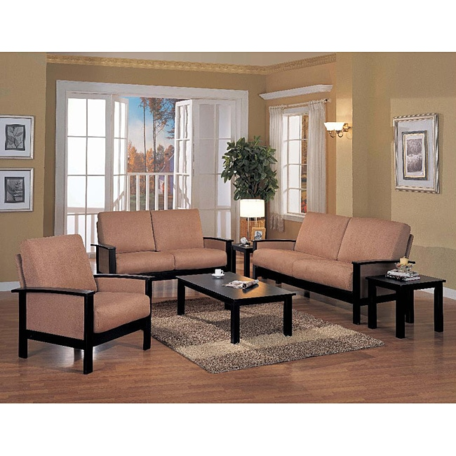 Microfiber 6 piece microfiber living room set free for 6 piece living room set