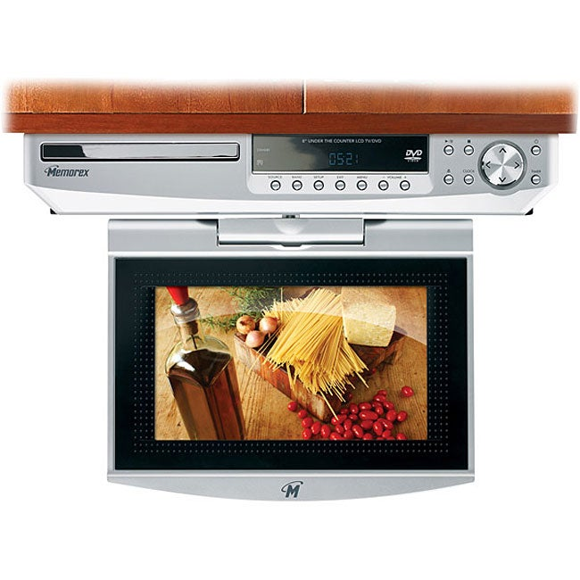 Memorex Mvuc821 Under Cabinet 8 Inch Lcd Tv Dvd Refurbished