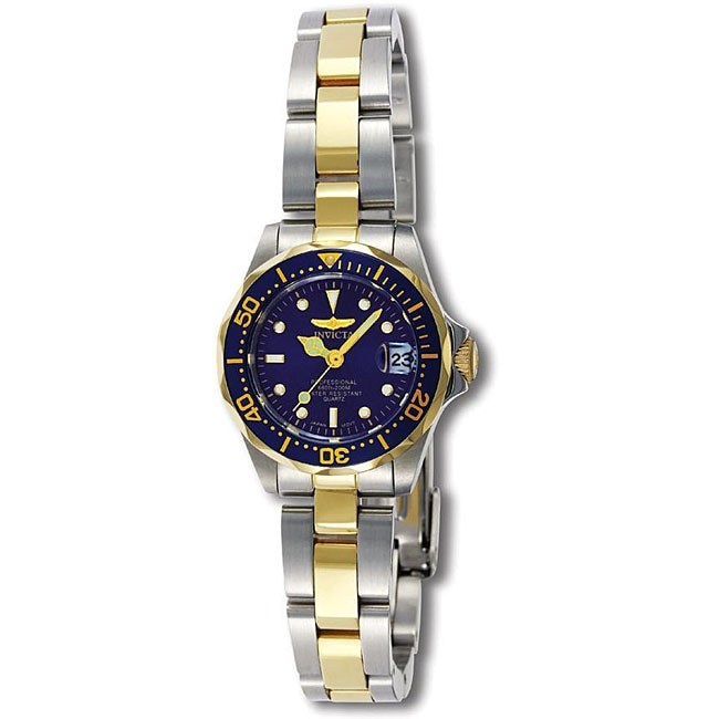 Invicta Women's Pro Diver Two-tone Watch - Thumbnail 0