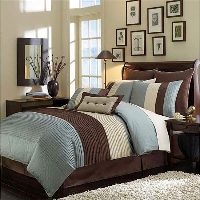 Veneto Blue 8-piece Comforter Set