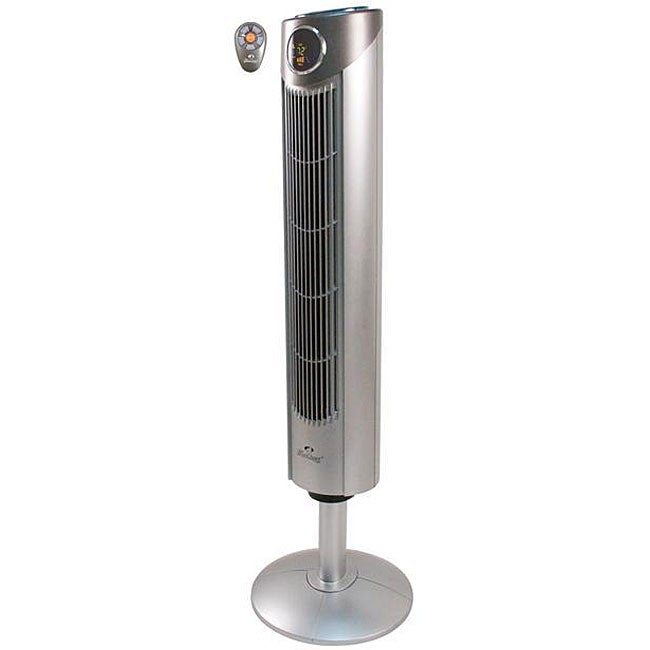Big Stand Up Oscillating Fan : Windchaser remote control oscillating pedastal wind fan