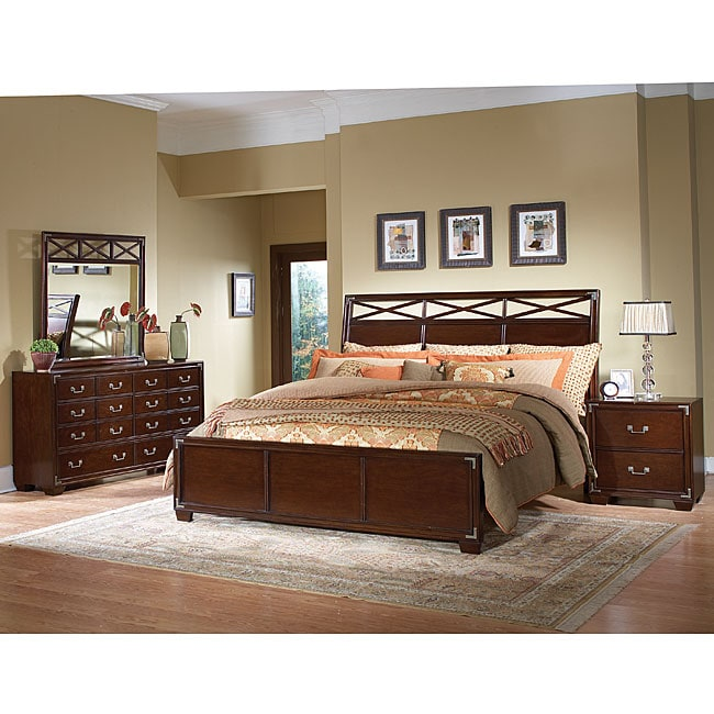 High Quality Lenox 4 Piece King Size Bedroom Set