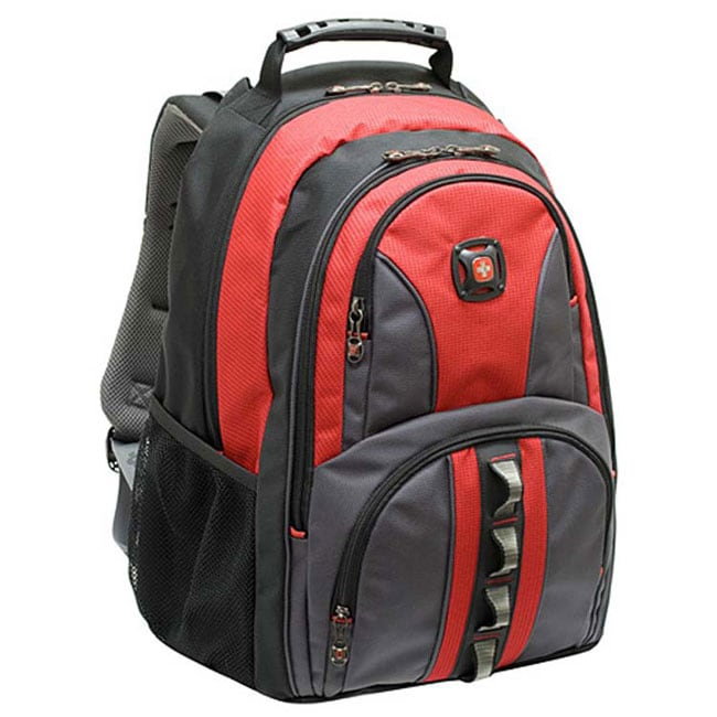 Wenger Swiss Gear Austin Red Laptop Backpack  sc 1 st  Overstock.com & Wenger Swiss Gear Austin Red Laptop Backpack - Free Shipping Today ...