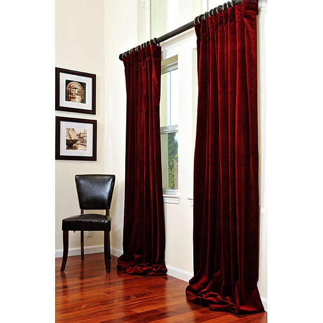 Burgandy Area Rugs Exclusive Fabrics Signature Maroon Wine Velvet 96-inch ...