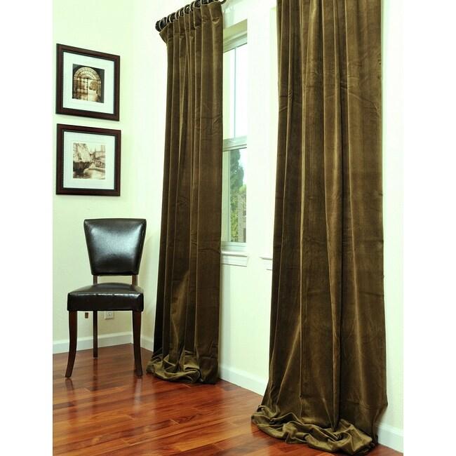 Exclusive Fabrics Signature Lichen Green Velvet 108 Inch