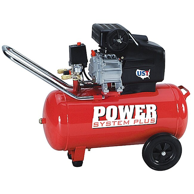UST 2HP 10-gallon Tank Air Compressor - Free Shipping Today