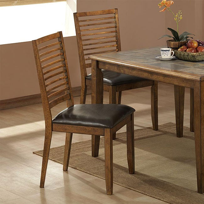 Farmhouse Side Dining Chairs (Set of 2)