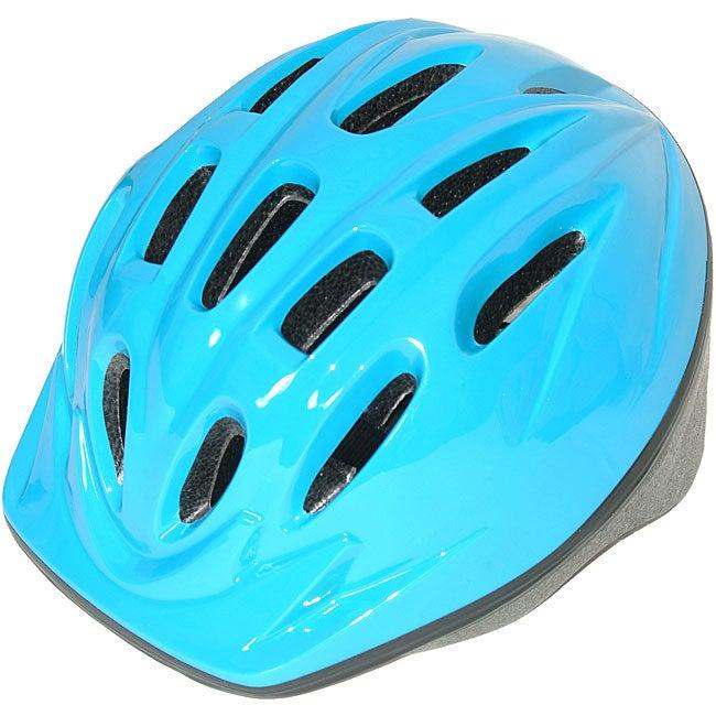 Toddler Light Blue Bicycle Helmet