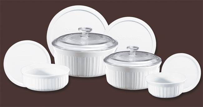 Shop Corningware French White 10 Piece Bake And Serve Set