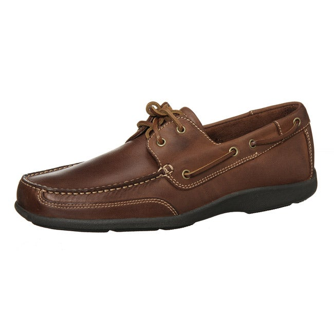 e9025dbf5142 Shop Capital by Rockport Men s  Magnar  Oxford-inspired Boat Shoes ...